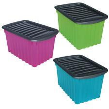 Multibox mit Deckel 30 x 16 x 20 cm Aufbewahrungsbox Spielzeugkiste Allzweck Box