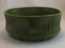 Green Lime Ceramic Flower Vase Clay Home Decor Vase Pot Round