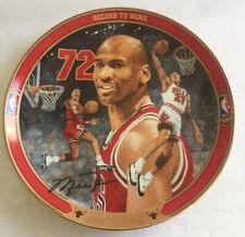 Michael Jordan Upper Deck Collectables 72 Wins Collector Plate April 26, 1996