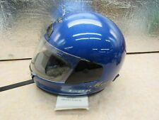 New L2 -K Snell M2000 Blue Full Face / With Sheild / Cover / Large Size