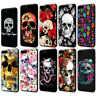 Aesthetic Sugar Skull Soft TPU Case for iPhone XS MAX XR X 8 7 6S Plus 5 5s se
