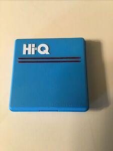 Vintage 1986 HI-Q Solitaire Strategy TRAVEL Game MILTON BRADLEY 4714 Retro Toy