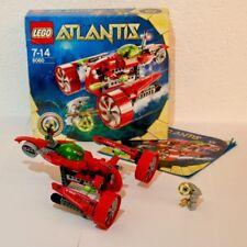 LEGO Atlantis (8060) Turbojet gebraucht mit Bauanleitung + OVP