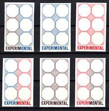 Probedruck Test Stamp Specimen TD 118 A - F Experimental
