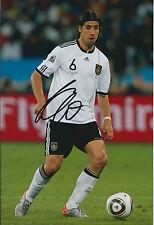 Sami KHEDIRA Autograph 12x8 Photo AFTAL COA German National Team Real Madrid
