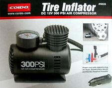 Coido 6526 12V Electric Car Tire Tyre Air Pump Compressor Inflator - BLACK