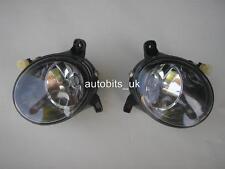 Lente Transparente Faros antiniebla luces Izquierdo + Derecho para AUDI A 4 A4