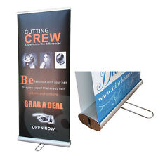 Double Sided Pull Up Banner / Roller Banner / Retractable  Stand - 200cmx85cm