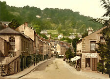 "P19 Vintage 1890's Photochrom Photo - Matlock Bath Derbyshire Print A3 17""x12"""