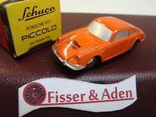 Schuco Piccolo Porsche 911 Orange IAA 1997 Neuwertig Pappverpackung