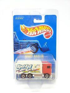 Hot Wheels Blue Card #142 Red Hiway Hauler Blackwalls Kool-Aid NEW Diecast
