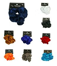 Big Satin Silky feel Scrunchy Scrunchie Ponytail holder Ouchless