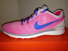 Nike Free 5.0 TR Fit 5 Women's Pink / silver/ Blue Tennis shoes Size 9 1/2 $110