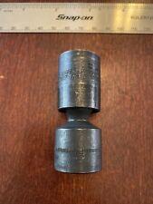 Snap On 38 Drive 19mm Metric Shallow 6 Point Swivel Impact Socket Ipfm19c
