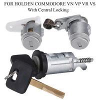 Ignition Barrel Door Lock & Key For Holden Commodore VN VP VR VS Central