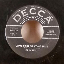 "Jerry Lewis Rock-A-Bye Your Baby / Come Rain or Come Shine 7"" 45 Decca VG"
