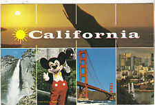 "*California Postcard-""5 Various Senic Views"" (Has .14 Stamp/Not PM)  (U2-CA136)"