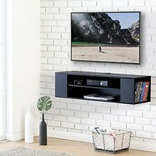 Floating TV Cabinet  U20acu201c TV Stand With Wood Hanging TV Console With 2 Drawers