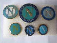 lotto 6 pins lot SSC NAPOLI FC club spilla football calcio pins badge spille