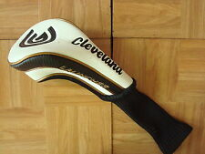 CLEVELAND COMP DRIVER HEADCOVER - black gold & white - F/ GOOD