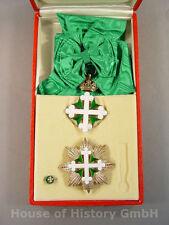 St.Mauritius und St.Lazarus Orden, GROßKREUZSATZ, Großkreuz, Bruststern, Etui