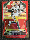 2019 Panini Prizm Geronimo Allison Red Retail Card# 116 Green Bay Packers
