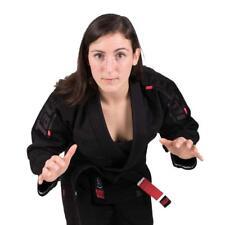 Tatami Estilo 6.0 Ladies BJJ Gi Black & Black Womens Jiu Jitsu Uniform Suit 6