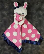 Old Navy White Bunny Rabbit Fuchsia Islands Pink Navy Blue Security Lovey