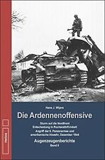 Die Ardennen-Offensive 6. Panzer Armee 99 US-Inf.Division Westfront Buch Band 2