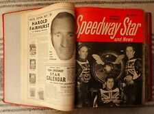 Lot of 48 Speedway Star Magazines in Official Binder 1964-1968