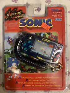 Tiger Electronics Sonic Key Chain Game.