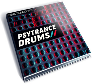 Psytrance Drum Samples - PSYTRANCE DRUMS - Kicks, Snares, Open/Closed Hats, Perc