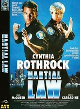 Martial Law ( Actionfilm UNCUT Hartbox ) Cynthia Rothrock, Chad McQueen