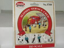 Model Power HO scale 5709 Station Service Crew Figures