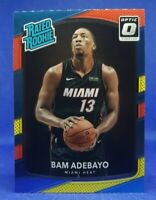 2017-18 Donruss Optic Rated Rookie Bam Adebayo RC Red & Yellow #187