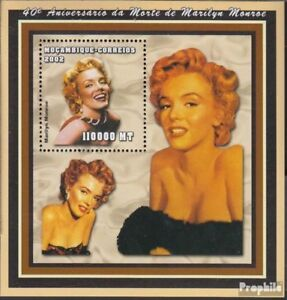 Mozambique block147 unmounted mint / never hinged 2002 Marilyn Monroe