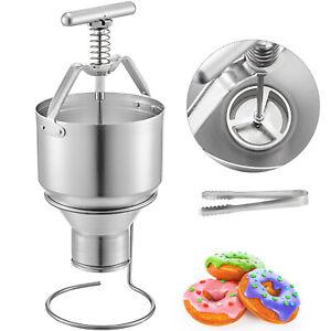 DIY Doughnut Donut Maker Machine Manual Dispenser Hopper 5L Kitchen Tool