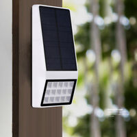 Solar Waterproof Motion Sensor LED Light Outdoor Wall Fence Lamp Solar Lights