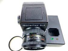 Rolleiflex SLX Mittelformat Kamera mit Roleigon 80mm f/2,8 und Ladegerät