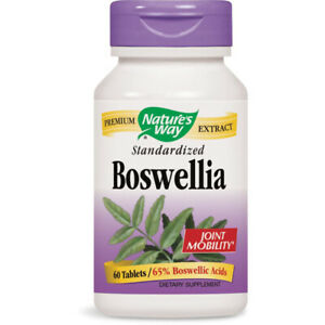 Nature's Way - Boswellia Standardized Supports Joint Health - 60 Capsules