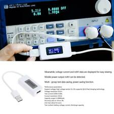 LCD USB Charger Battery Capacity Voltage Current Safety Tester Meter Detector