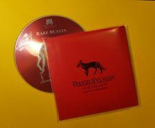 David Sylvian Rare Beasts Rarities And Collaborations CD 15 tracks Japan karn