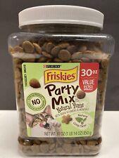 Cat Food Friskies Party Mix Natural Yums Adult Cat Treats, Top Seal Seller