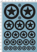 decals USA tank marks(black) for 1/35 1/48 or other scales (1910)