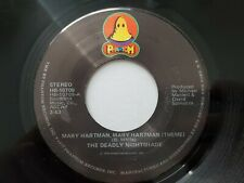 THE DEADLY NIGHTSHADE - Mary Hartman (Theme) / Dance Mr. Big Dance 1976 FUNK 7""