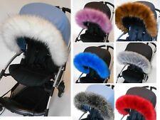 Pram Fur hood trim for pram, iCandy, bugaboo, silvercross universal fit