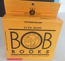 1 Set 3 BOB Books 1ST Scholastic Printing 1994 TEACHERS-HOME SCHOOLERS 8 BKS NEW