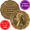 Brass Threepence : 1953-1967 : Elizabeth II : 3d Coin : Choose Year