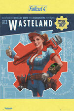 24x36 FALLOUT 4 WASTELAND POSTER rolled and shrink wrapped