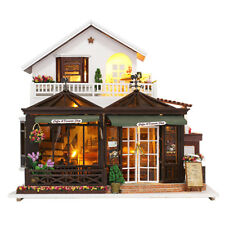 DIY Miniature Dolls House Model Creative Assembly Kit - 1:24 Coffee House